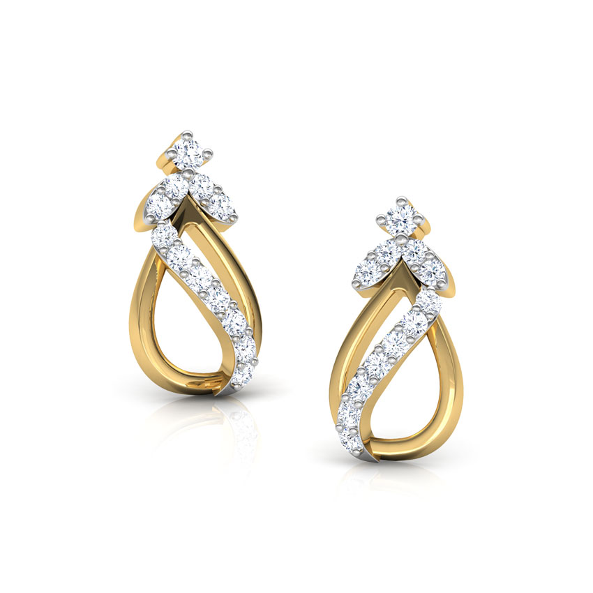 Tress Elegant Stud Earrings