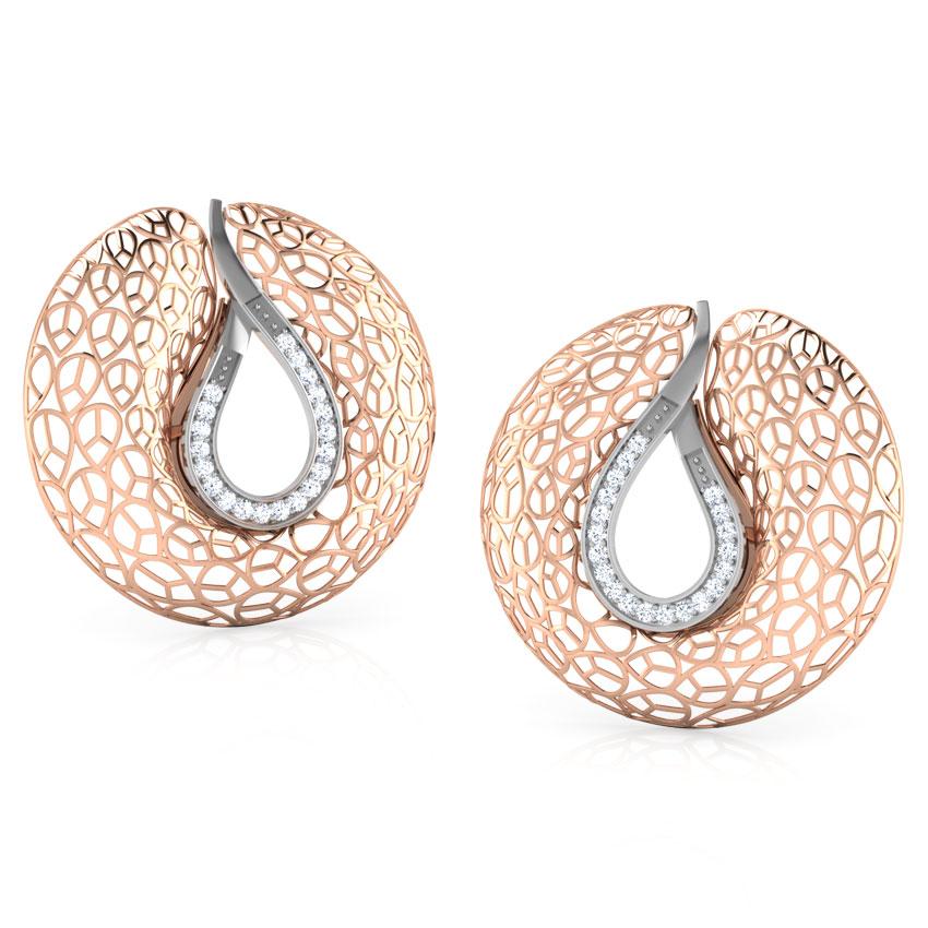 Carmel Trellis Earring