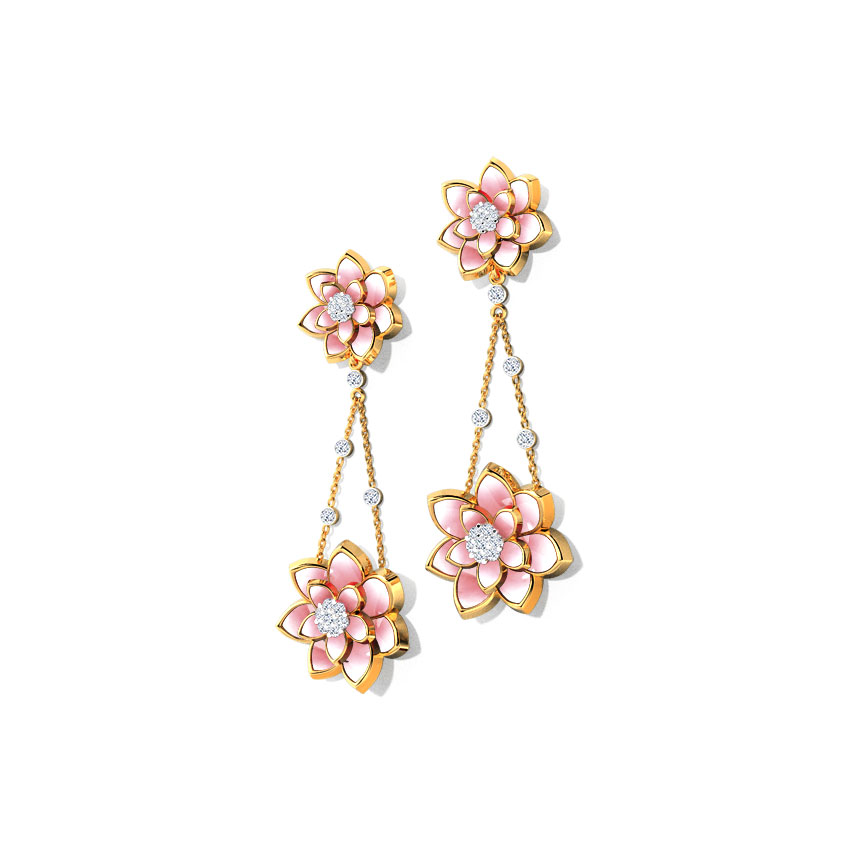 Basket of Lotus Earrings