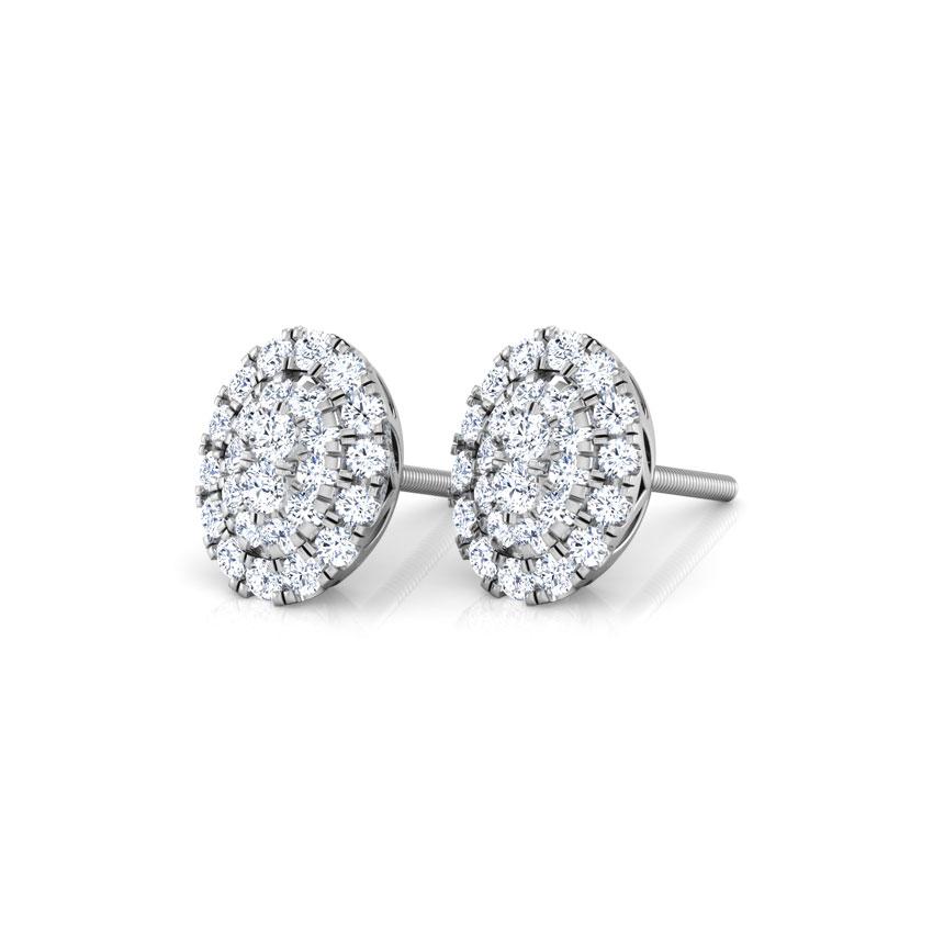 Maisha Cluster Stud Earrings
