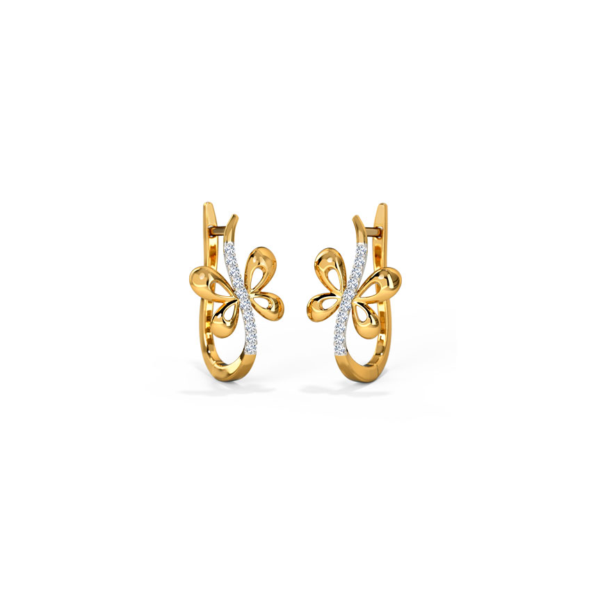 Diamond Earrings Buy Diamond Earrings Designs line at Best