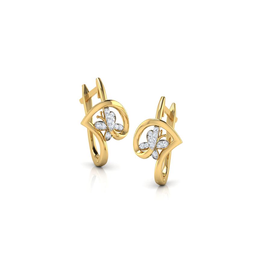 Butterfly Love Earrings