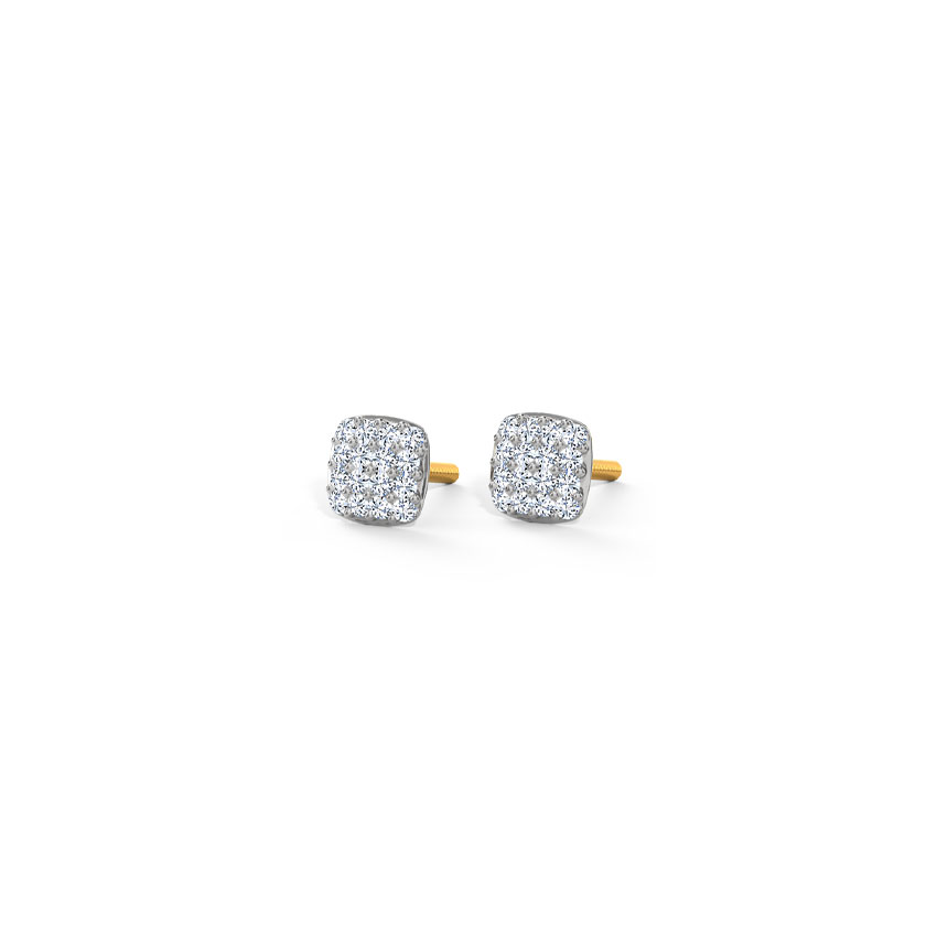 Kaylee Truss Stud Earrings