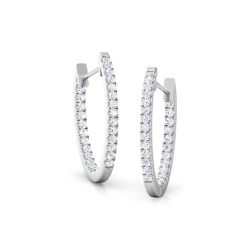 Hailey Single Row Earrings