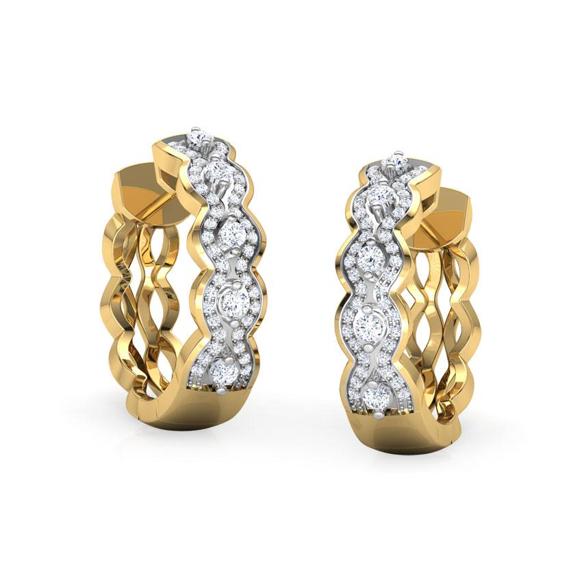 Anna Wavy Earrings