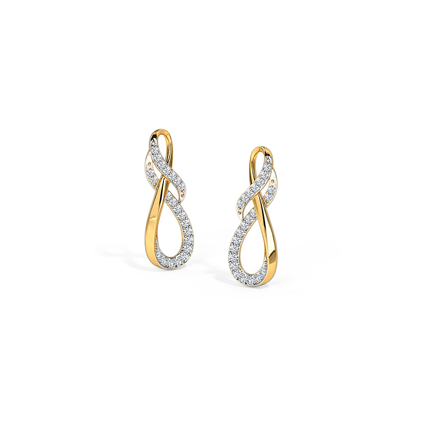 Fryda Inter-Twisted Stud Earrings