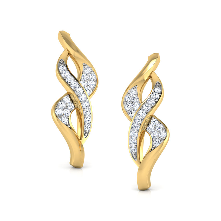 Bette Intertwisted Stud Earrings