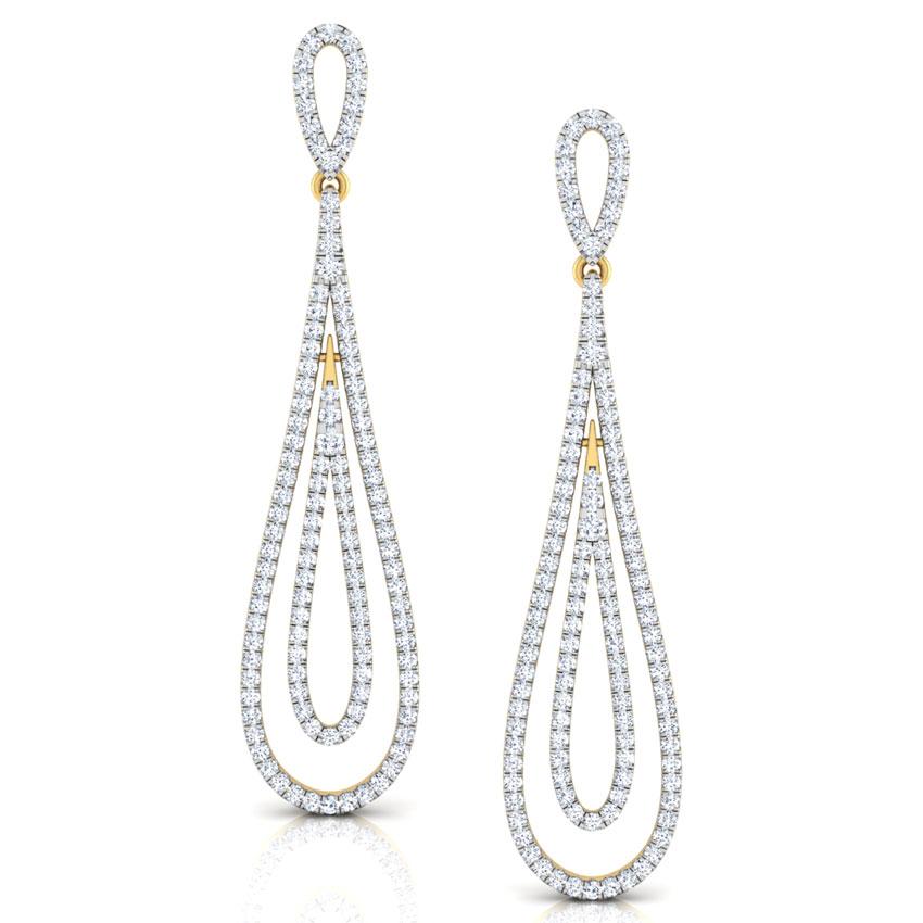 Elena Oscillate Drop Earrings