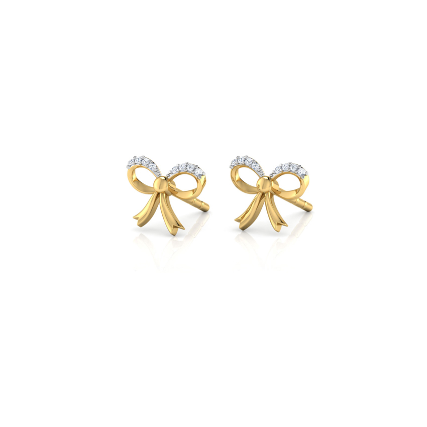 Jessy Bow Stud Earrings