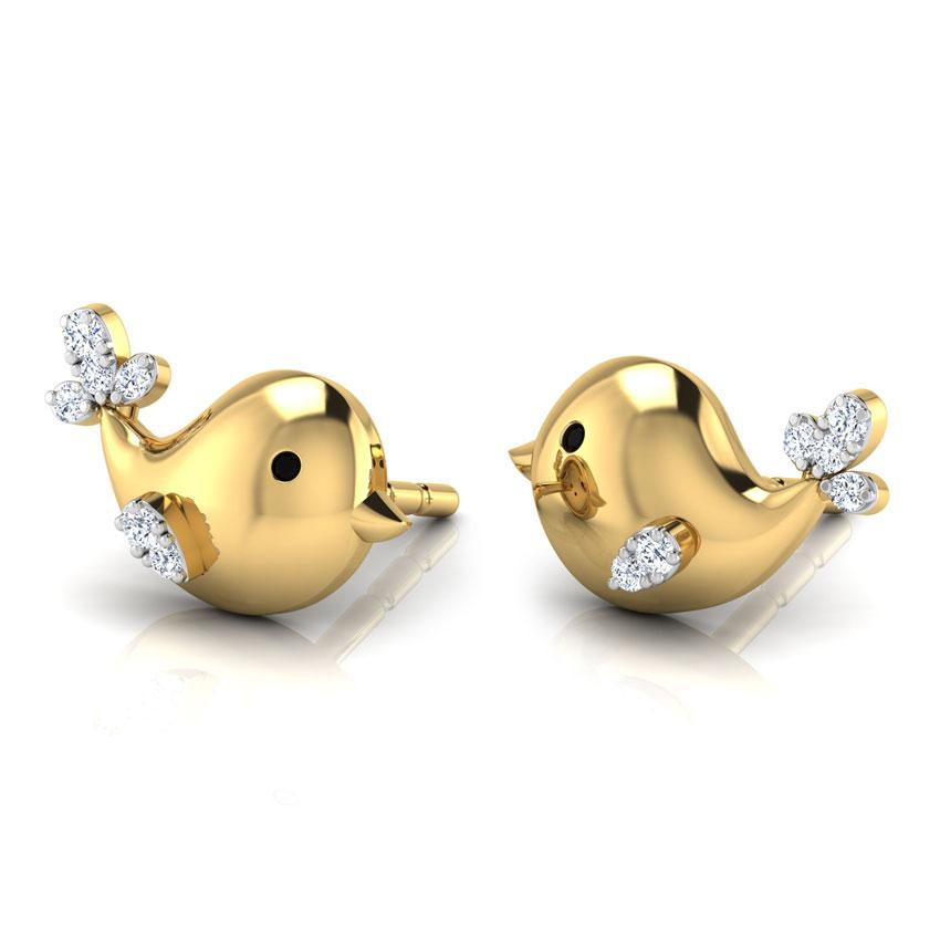 Birdy Stud Earrings