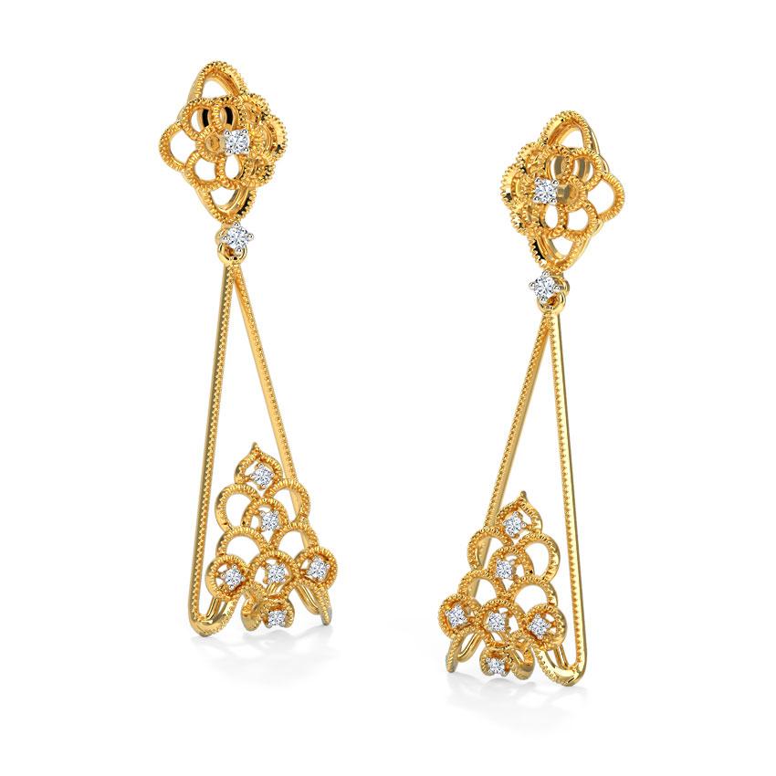 Aradia Crown Drop Earrings