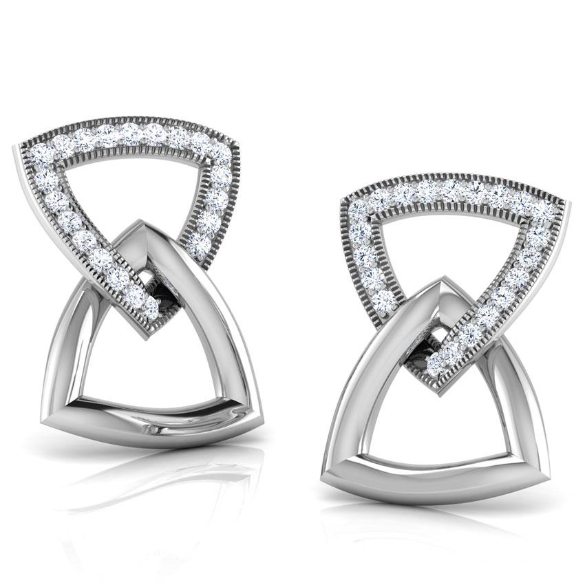 Belinda Clasped Stud Earrings