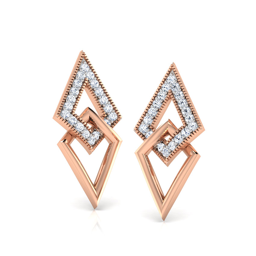 Dina Interlinked Stud Earrings