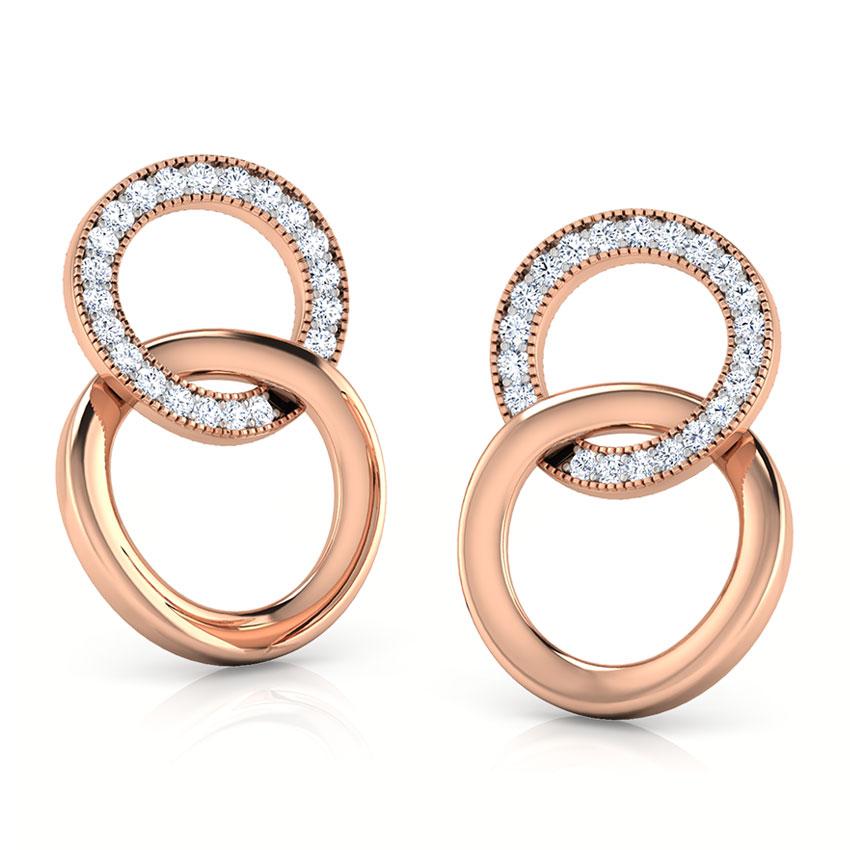 Cirilla Looped Stud Earrings