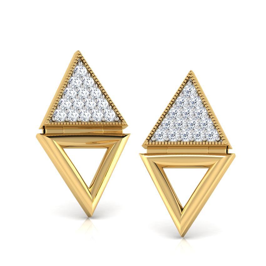 Debora Pyramid Stud Earrings