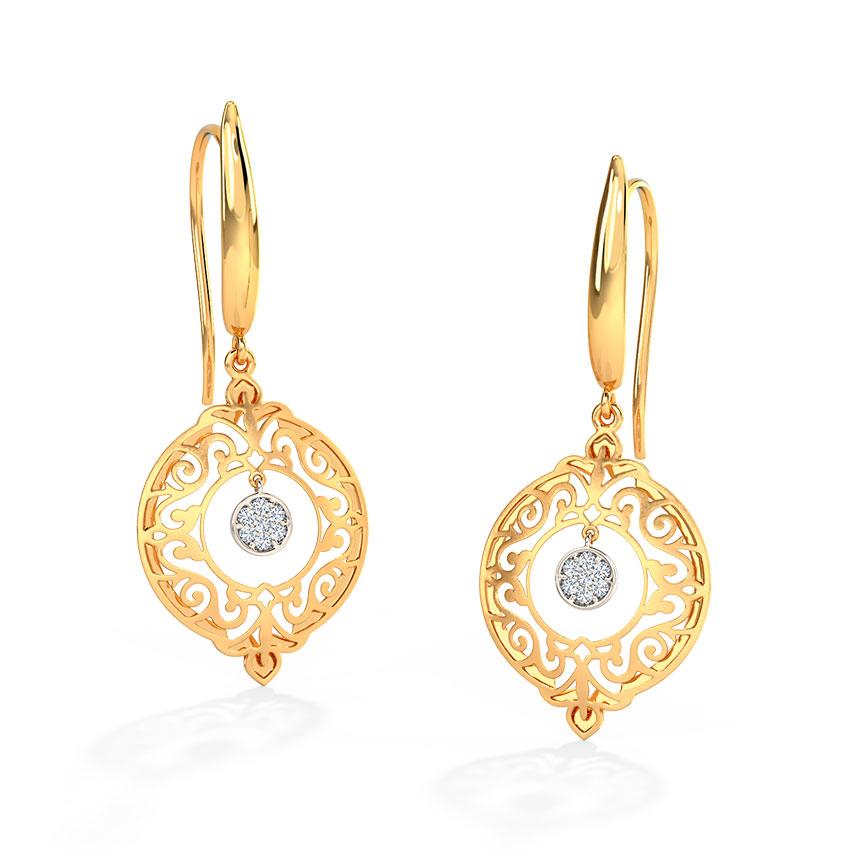 Evelyn Ornate Drop Earrings