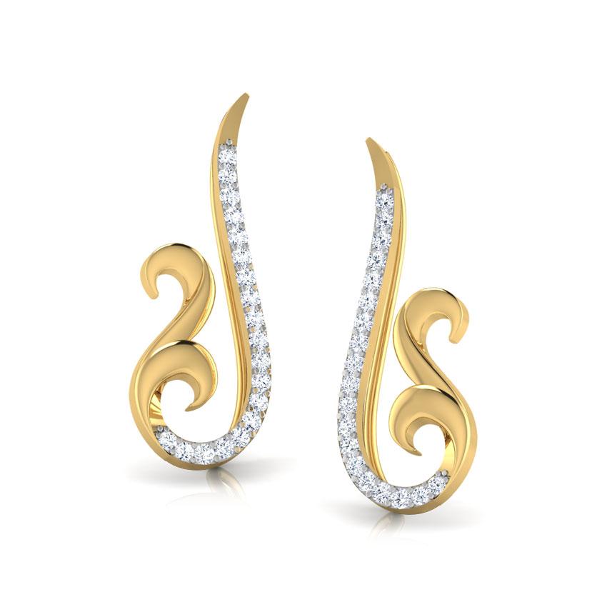 Eternal Swirl Ear Cuffs