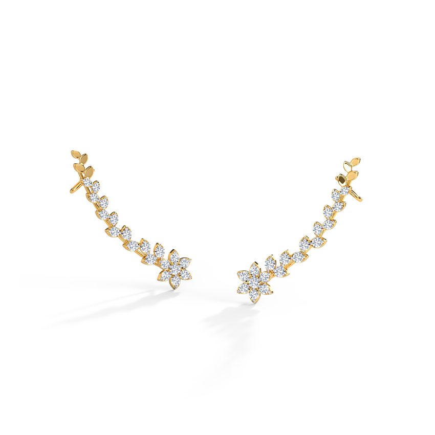 Abida Star Ear Cuffs