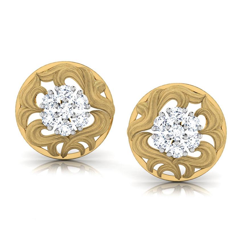 Cluster Bloom Stud Earrings