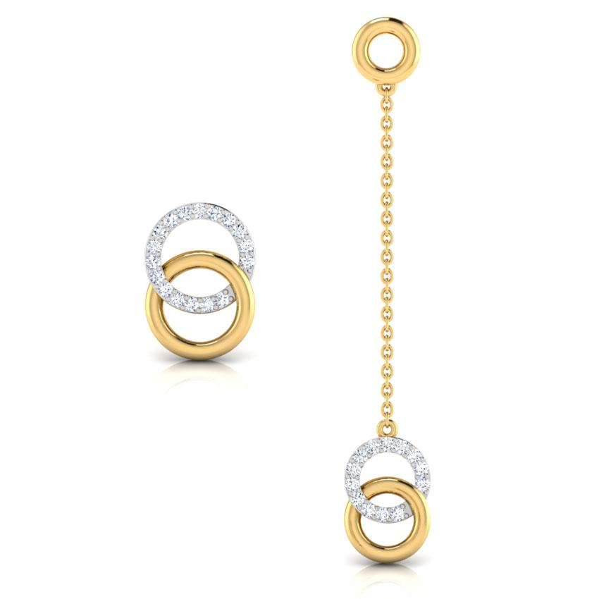 O & O Mismatched Earrings
