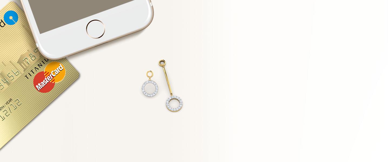 Hoop & Hoop  Mismatched Earrings