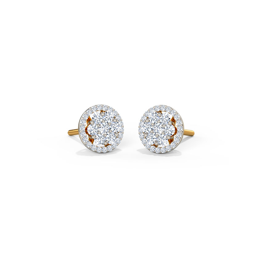 Adele Seven Stone Stud Earrings