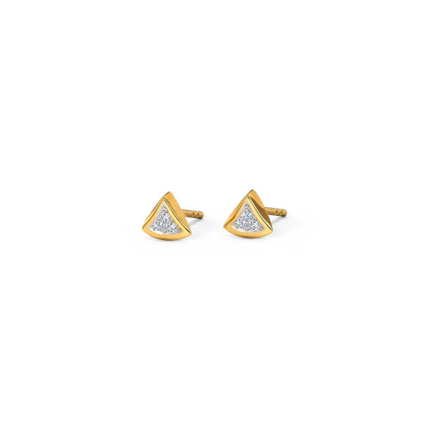 Trillium Stud Earrings