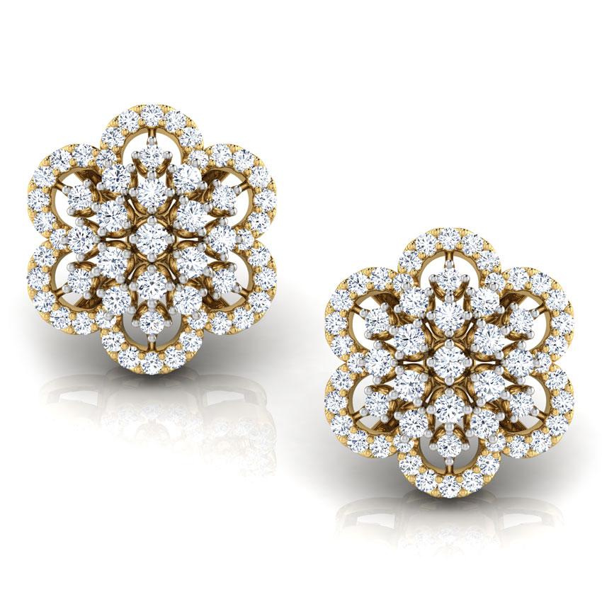 Gracelyn Flower Stud Earrings