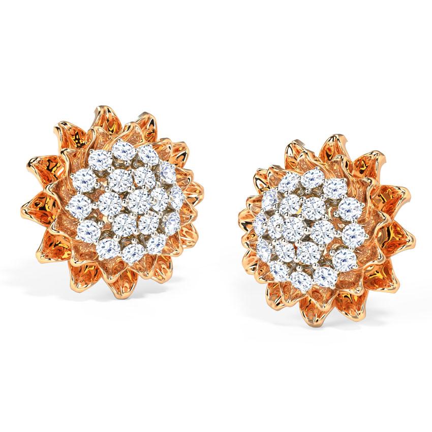 Rising Star Stud Earrings