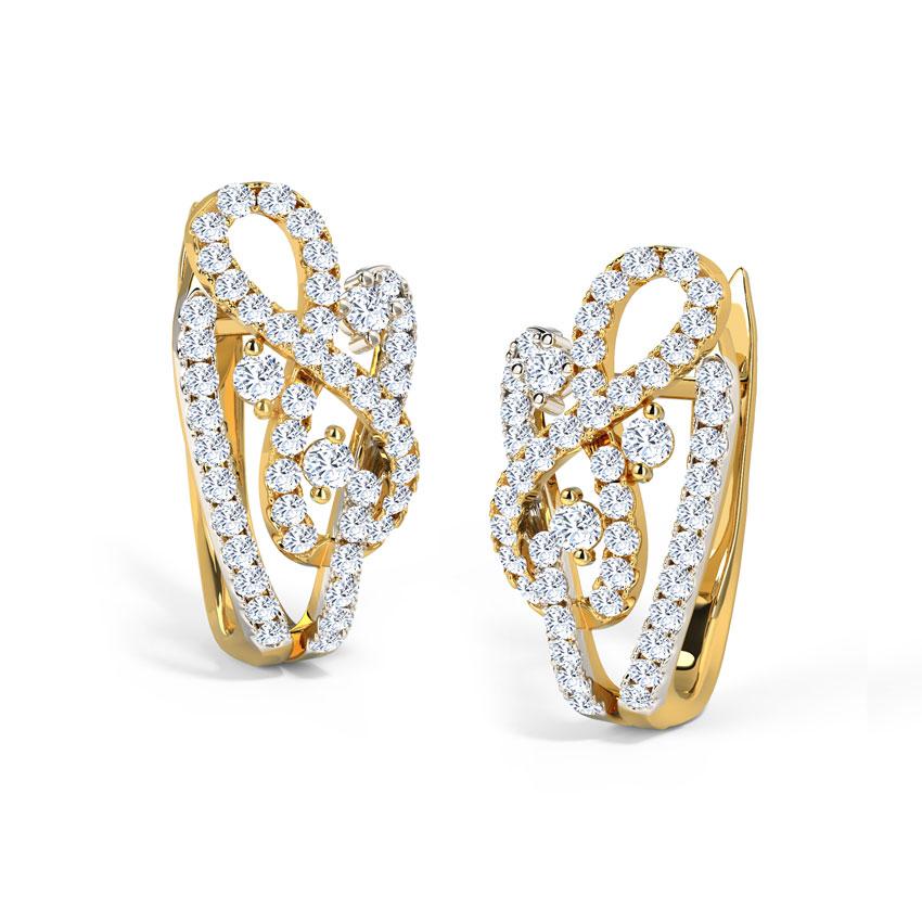 Joana Twine Hoop Earrings