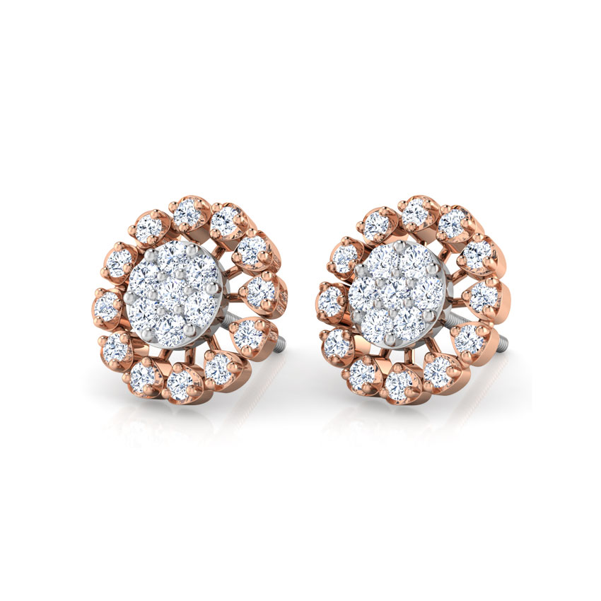 Star Lamp Stud Earrings