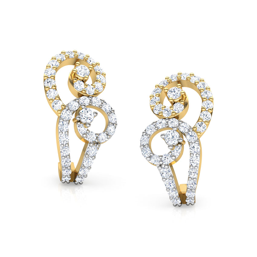 Twists Hoop Earrings