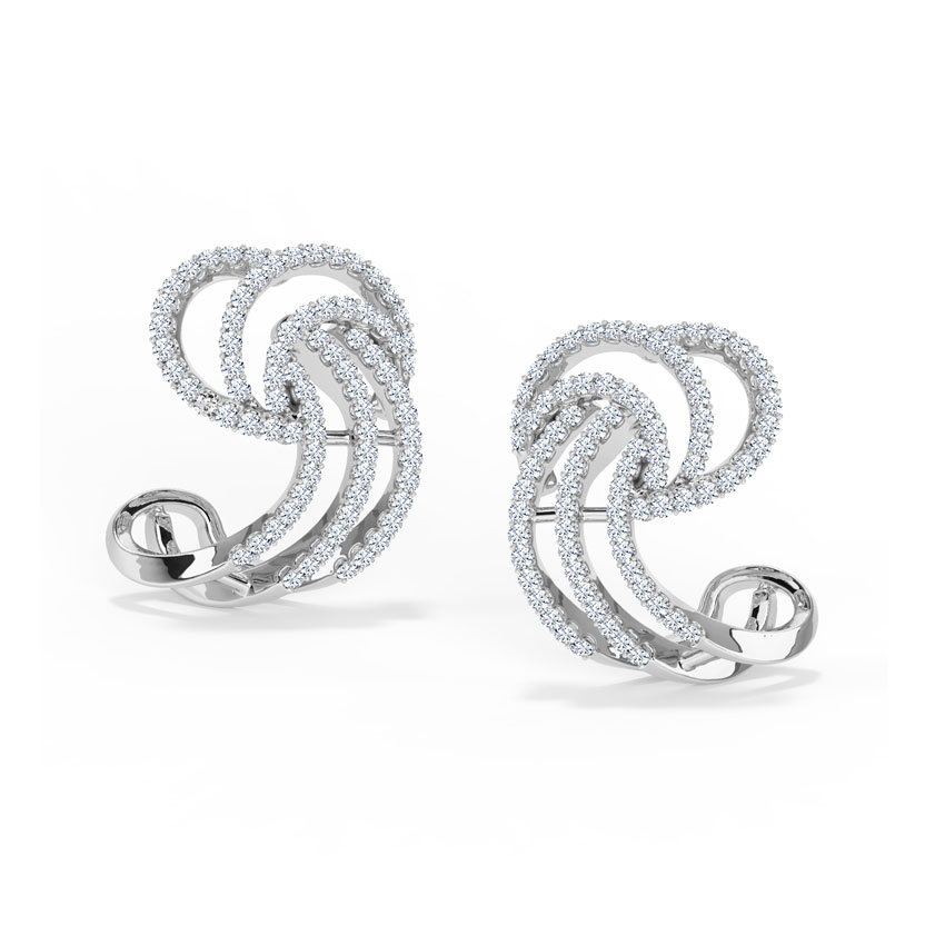 Sparkflow Stud Earrings