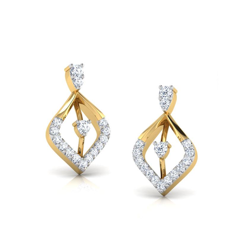 Wilona Diamond Stud Earrings