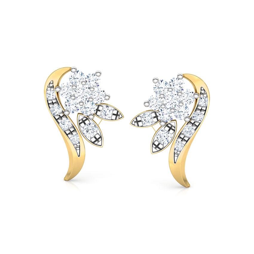 Adorn Cluster Stud Earrings