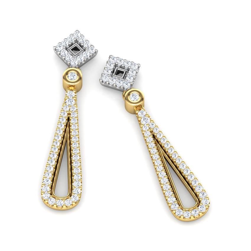 Lattice Drop Earrings