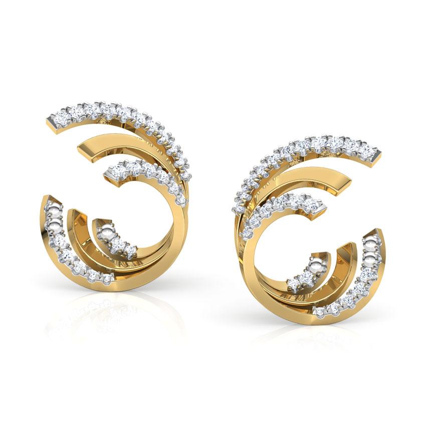 Spiral Hug Earrings