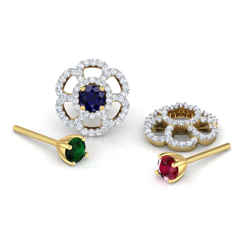 Blossom Multi-Style Stud Earrings