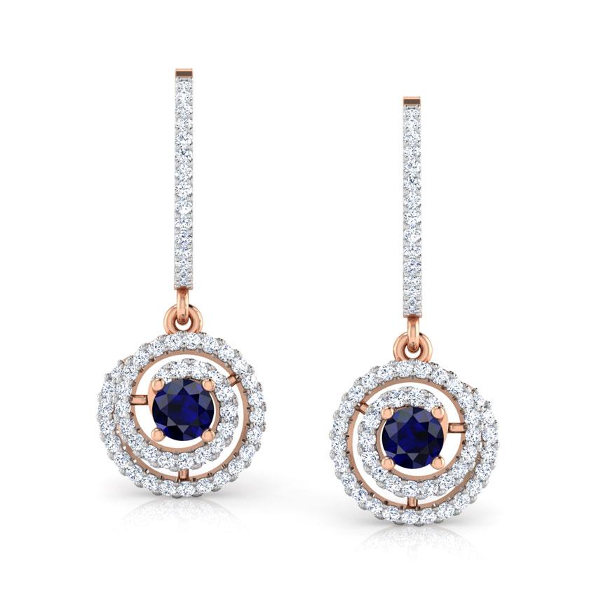 Hazel Swirl Drop Earrings