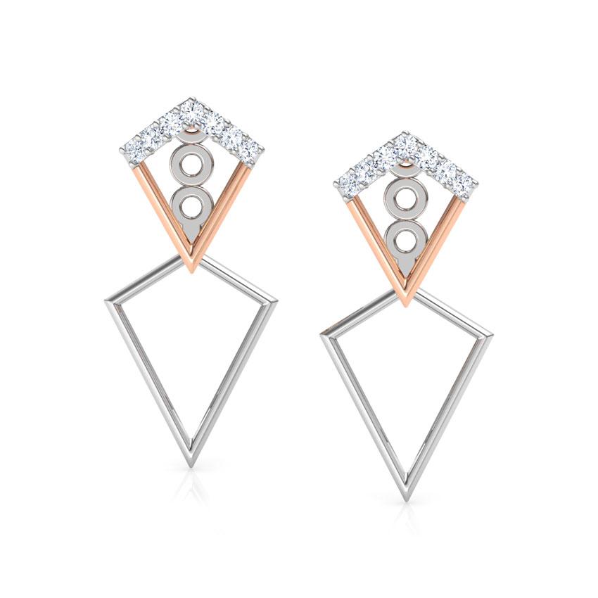 Duo Triangle Ear Jackets