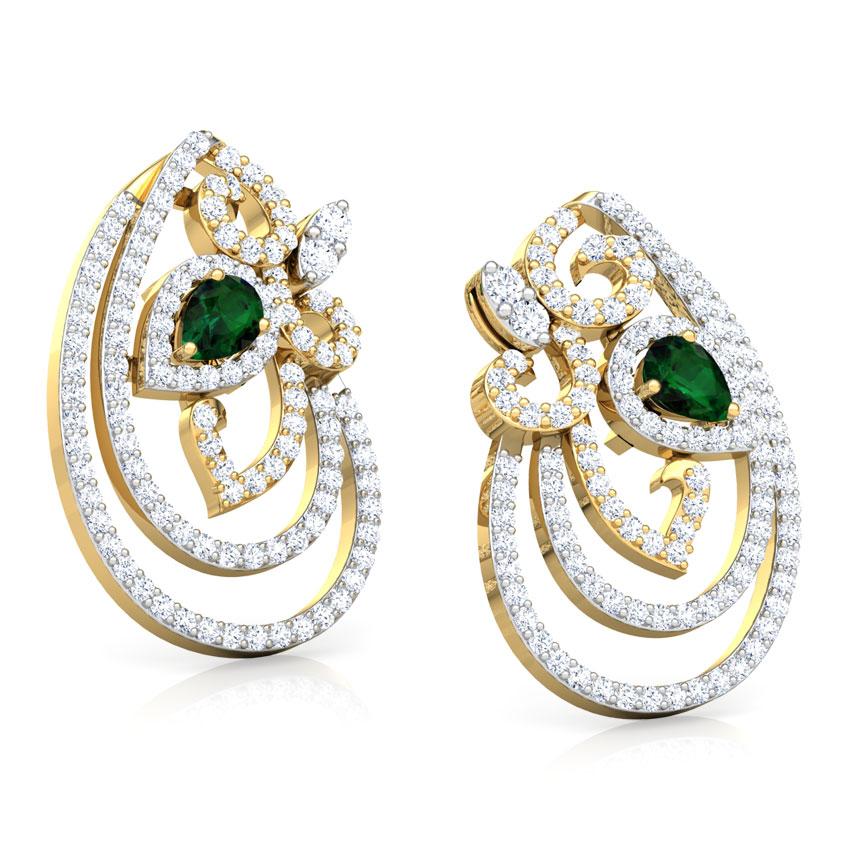 Naked Drop Earrings Jewellery India Online - CaratLane.com