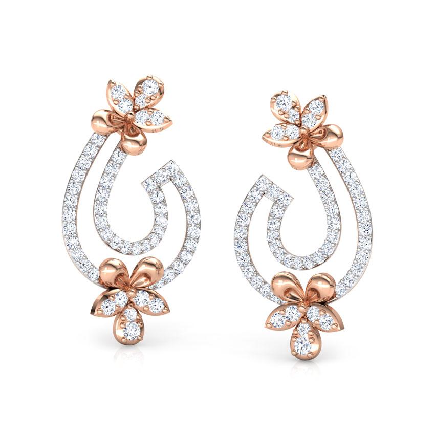 Flare Floret Drop Earrings