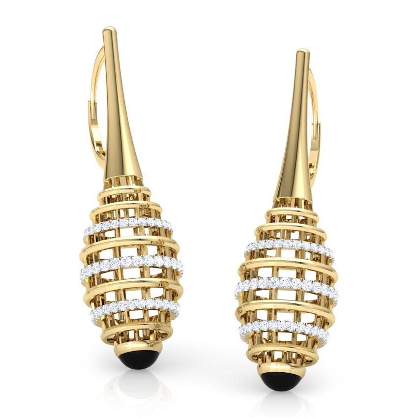 Eros Ziggurat Drop Earrings
