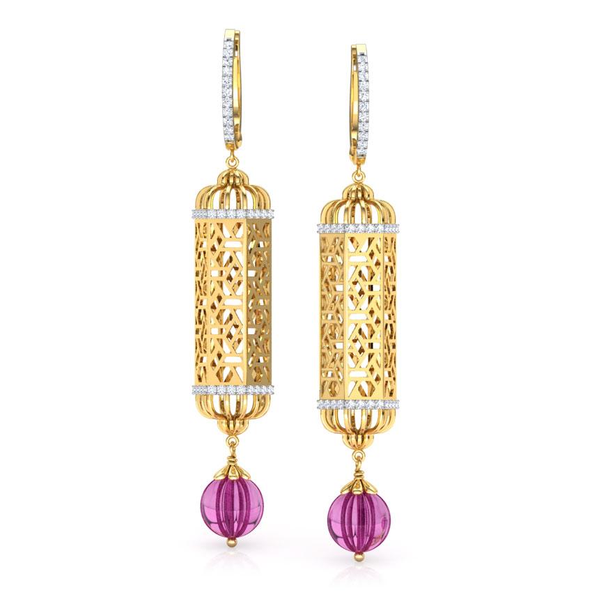 Hawa Jharokha Drop Earrings