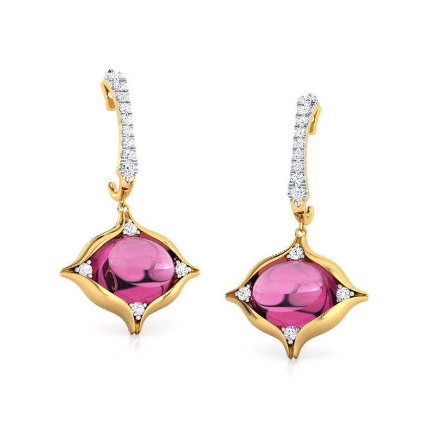 Amer Dome Drop Earrings