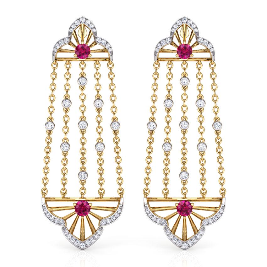 Samode Arch Drop Earrings