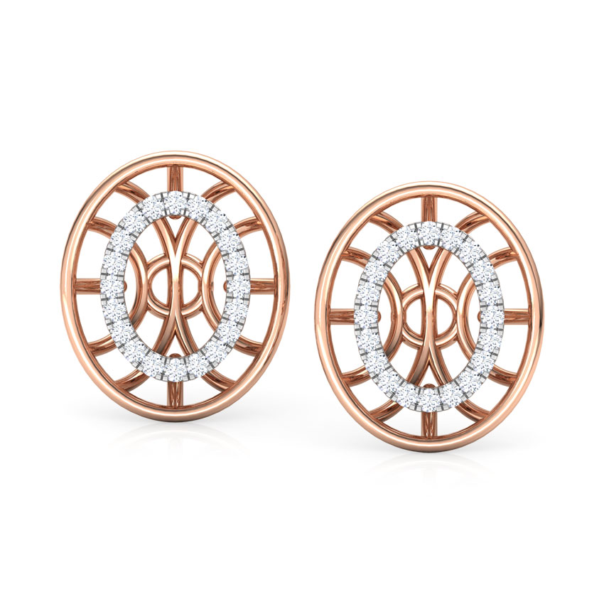 Bhavan Circular Stud Earrings