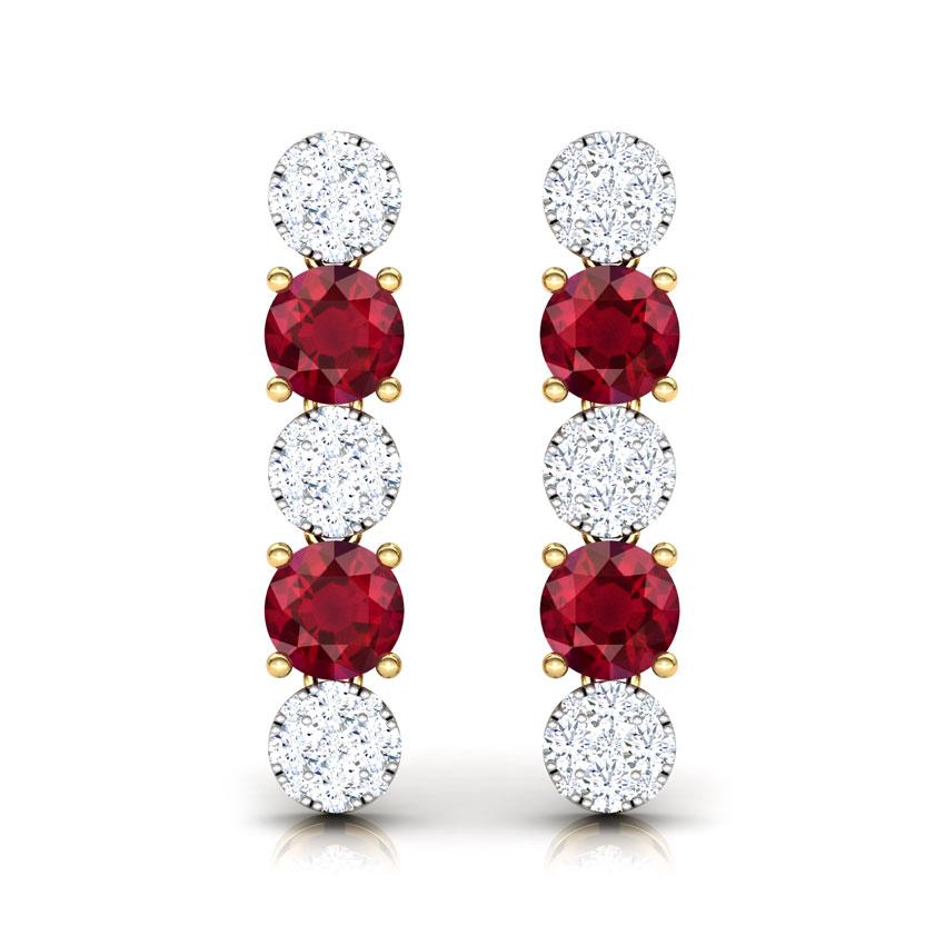 Enduring Cluster Drop Earrings