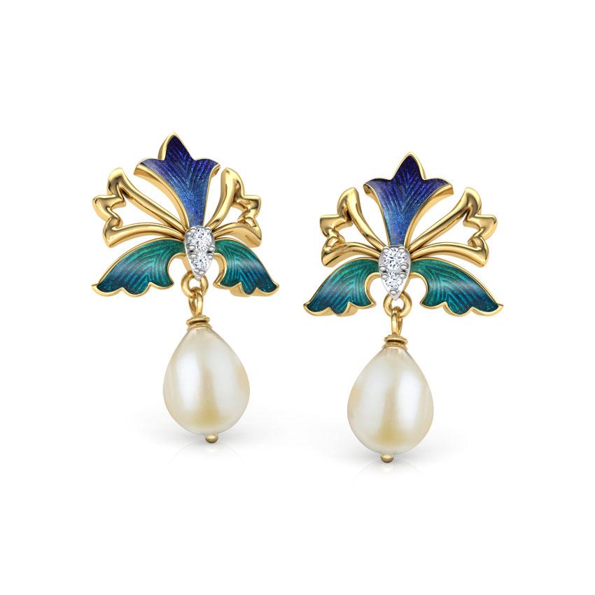 Zahra Iris Drop Earrings