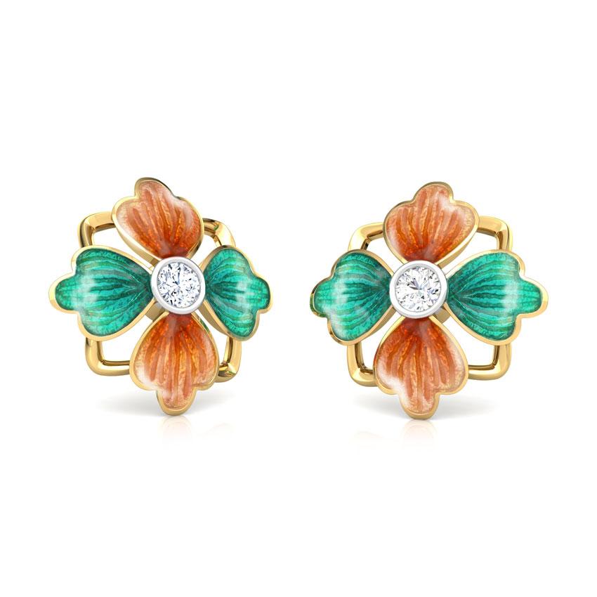 Mahira Tulip Stud Earrings